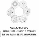 2. multiprises à interrupteur-